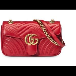 New Authentic Marmont Gucci Crossbody